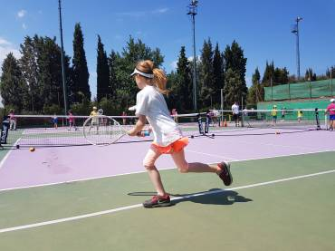 1o Τουρνουά Red – Orange / Collective Tennis School & American Farm School
