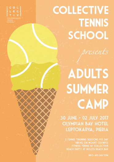 Collective Tennis Camp: Adult Edition 2017