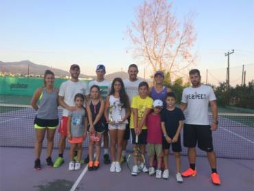Η παρουσία της Collective Tennis School στα πρωταθλήματα Juniors, το 2ο τρίμηνο του 2017