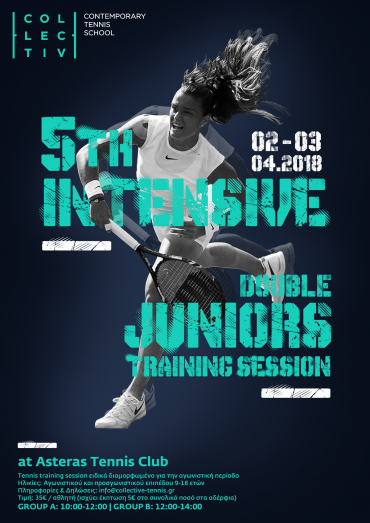 5th Intensive Juniors and Adults Training Sessions, April 2018